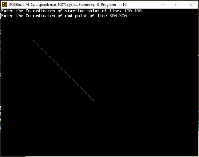 Implementing DDA Line Drawing Algorithm Using C++ – MyBSCIT com